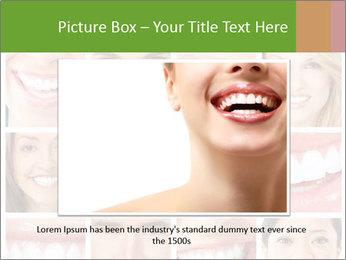 People teeth collage PowerPoint Templates - Slide 15