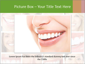 People teeth collage PowerPoint Templates - Slide 16