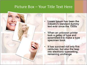 People teeth collage PowerPoint Templates - Slide 17