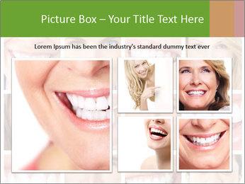 People teeth collage PowerPoint Templates - Slide 19
