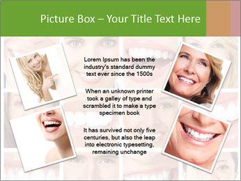 People teeth collage PowerPoint Templates - Slide 24