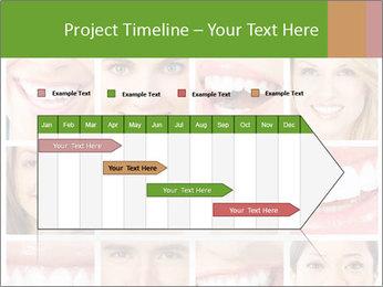People teeth collage PowerPoint Templates - Slide 25