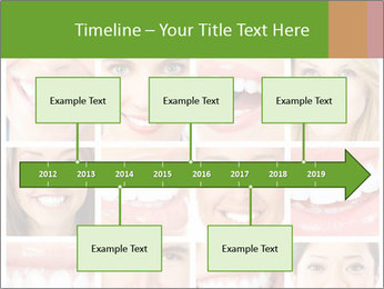 People teeth collage PowerPoint Templates - Slide 28