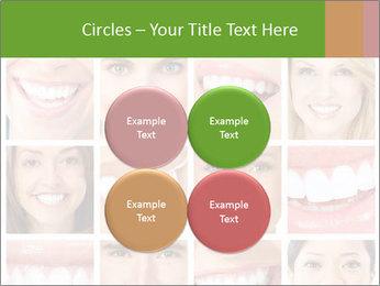 People teeth collage PowerPoint Templates - Slide 38