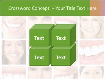People teeth collage PowerPoint Templates - Slide 39