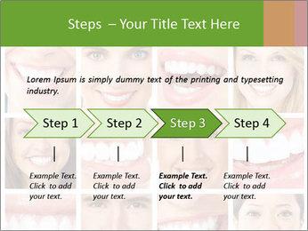 People teeth collage PowerPoint Templates - Slide 4