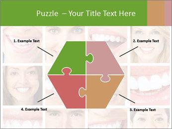 People teeth collage PowerPoint Templates - Slide 40