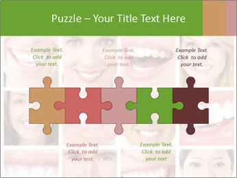 People teeth collage PowerPoint Templates - Slide 41