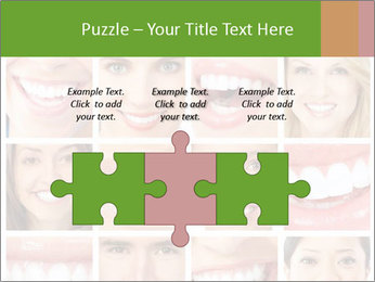 People teeth collage PowerPoint Templates - Slide 42