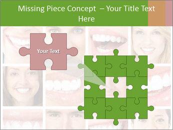 People teeth collage PowerPoint Templates - Slide 45