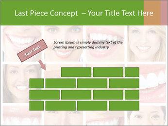 People teeth collage PowerPoint Templates - Slide 46
