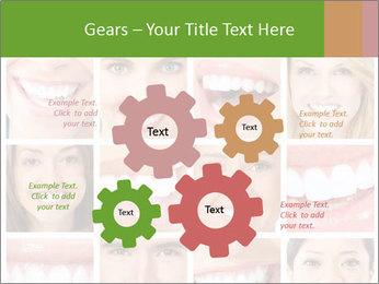 People teeth collage PowerPoint Templates - Slide 47
