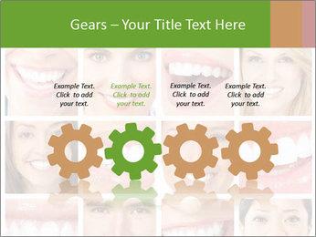 People teeth collage PowerPoint Templates - Slide 48