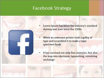 People teeth collage PowerPoint Templates - Slide 6