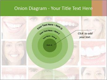People teeth collage PowerPoint Templates - Slide 61