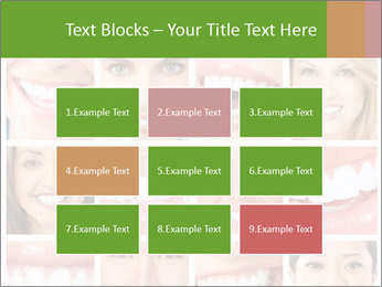 People teeth collage PowerPoint Templates - Slide 68