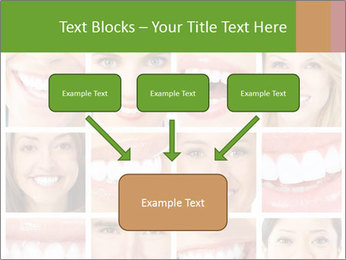 People teeth collage PowerPoint Templates - Slide 70