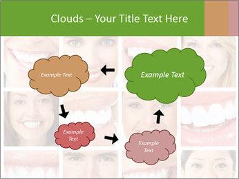People teeth collage PowerPoint Templates - Slide 72