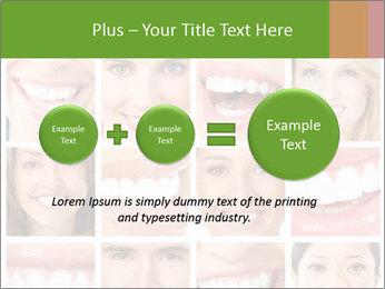 People teeth collage PowerPoint Templates - Slide 75