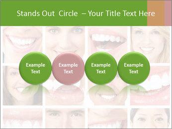 People teeth collage PowerPoint Templates - Slide 76