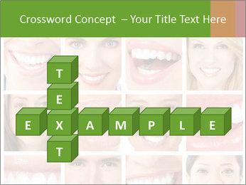 People teeth collage PowerPoint Templates - Slide 82