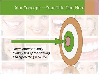 People teeth collage PowerPoint Templates - Slide 83