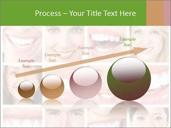 People teeth collage PowerPoint Templates - Slide 87
