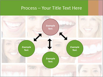 People teeth collage PowerPoint Templates - Slide 91