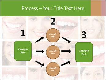 People teeth collage PowerPoint Templates - Slide 92