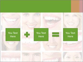 People teeth collage PowerPoint Templates - Slide 95