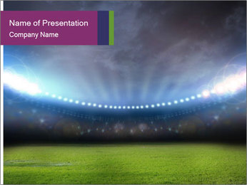 Stadium PowerPoint Templates - Slide 1