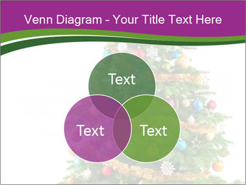 Christmas tree with colorful ornaments PowerPoint Templates - Slide 33