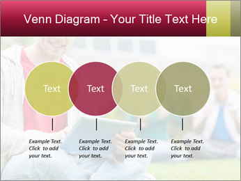 Smiling college boy PowerPoint Template - Slide 32