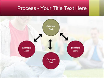 Smiling college boy PowerPoint Template - Slide 91