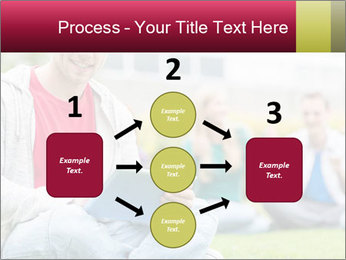 Smiling college boy PowerPoint Template - Slide 92