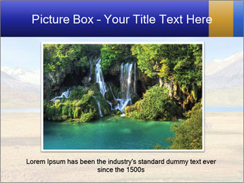 A blue lake PowerPoint Template - Slide 15