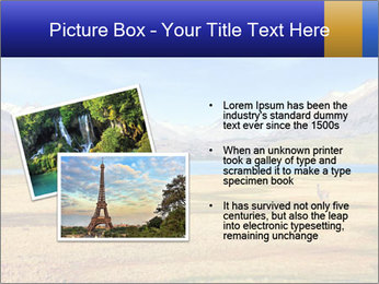 A blue lake PowerPoint Template - Slide 20