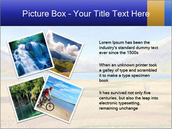 A blue lake PowerPoint Template - Slide 23