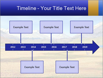 A blue lake PowerPoint Template - Slide 28