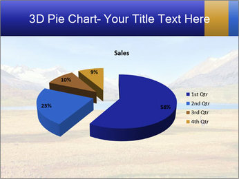 A blue lake PowerPoint Template - Slide 35