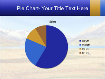 A blue lake PowerPoint Template - Slide 36