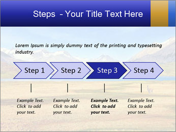 A blue lake PowerPoint Template - Slide 4