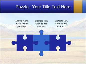 A blue lake PowerPoint Template - Slide 42