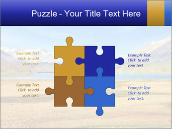 A blue lake PowerPoint Template - Slide 43