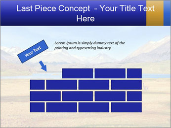 A blue lake PowerPoint Template - Slide 46
