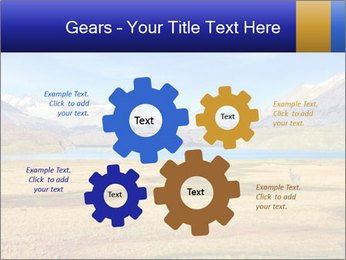 A blue lake PowerPoint Template - Slide 47
