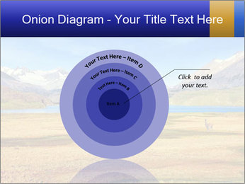 A blue lake PowerPoint Template - Slide 61