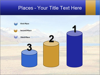 A blue lake PowerPoint Template - Slide 65