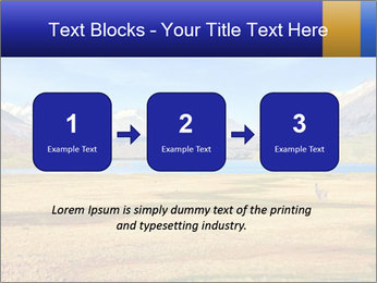A blue lake PowerPoint Template - Slide 71