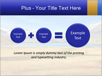 A blue lake PowerPoint Template - Slide 75